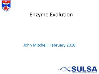 Enzyme Evolution