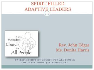 SPIRIT FILLED ADAPTIVE LEADERS
