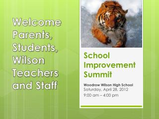 School Improvement Summit