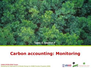 Carbon accounting: Monitoring