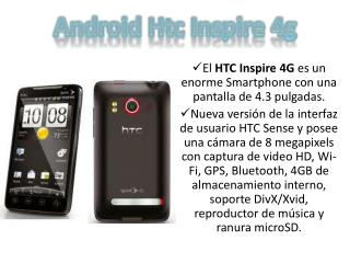 Android  Htc  Inspire  4g