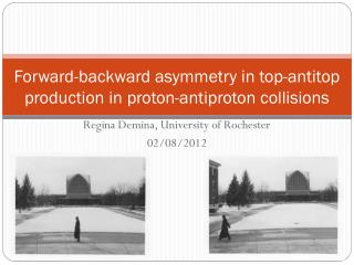 Forward-backward a symmetry in top- antitop  production in proton-antiproton collisions