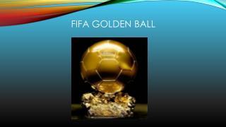 Fifa Golden balL