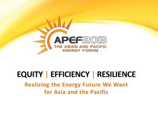 Equity  |  efficiency  |  resilience