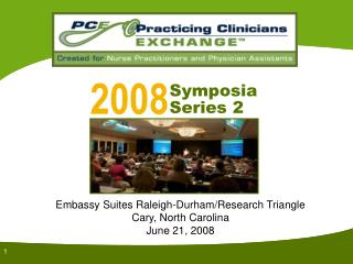 Embassy Suites Raleigh-Durham/Research Triangle Cary, North Carolina June 21, 2008