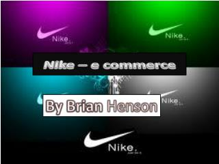 Nike – e commerce