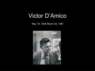 Victor D'Amico