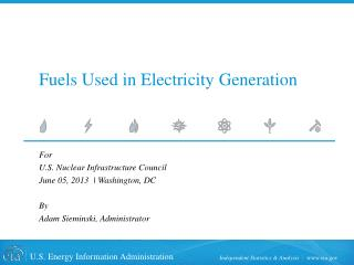 Fuels Used in Electricity Generation