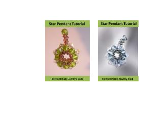Star Pendant Tutorial
