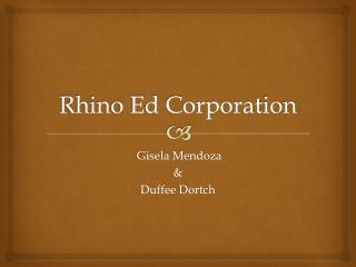 Rhino Ed Corporation