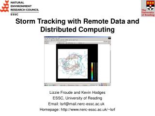 Storm Tracking with Remote Data and Distributed Computing
