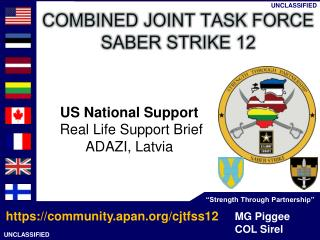 US National Support Real Life Support Brief ADAZI , Latvia