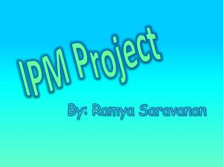 IPM Project