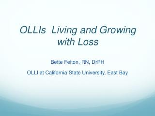 OLLIs   Living and Growing with Loss
