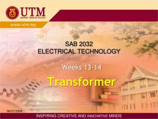 SAB 2032 ELECTRICAL TECHNOLOGY