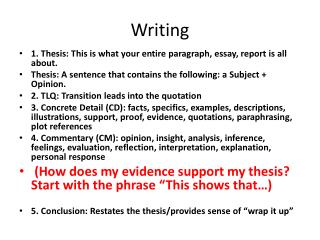 thesis papers for sale
