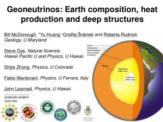 Geoneutrinos: Earth composition, heat production and deep structures