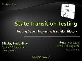 State Transition Testing