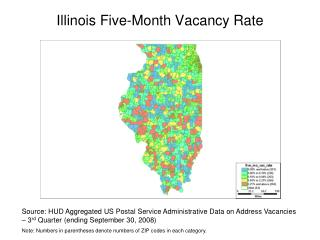 Illinois Five-Month  Vacancy Rate