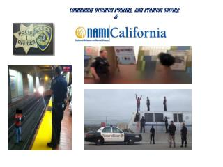 Community Oriented Policing  and Problem Solving 				&