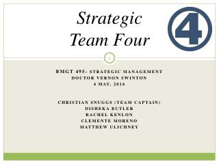 Strategic  Team Four
