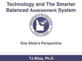 Technology and The Smarter Balanced  Assessment  System