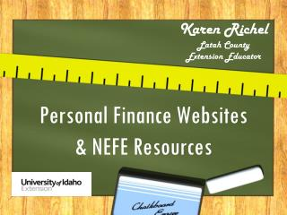 Personal Finance Websites & NEFE Resources