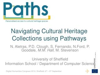 Navigating Cultural Heritage Collections using Pathways