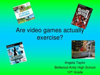 Are video games actually exercise?