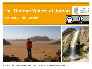 The Thermal Waters  of  Jordan