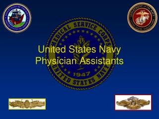 United States Navy Physician Assistants