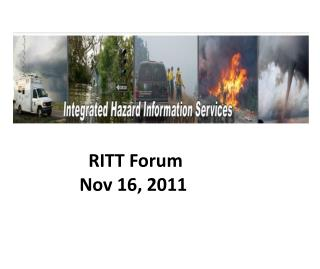 RITT Forum Nov 16, 2011