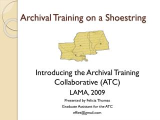 Archival Training on a Shoestring