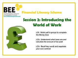 Financial Literacy Scheme