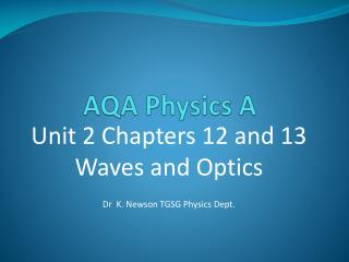 AQA Physics A