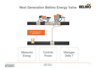 Next Generation Belimo Energy Valve