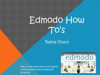 Edmodo How To's