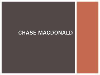 Chase MacDonald