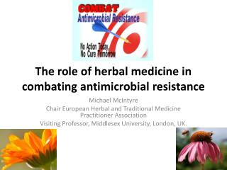 The role of herbal  medicine  in  combating antimicrobial resistance