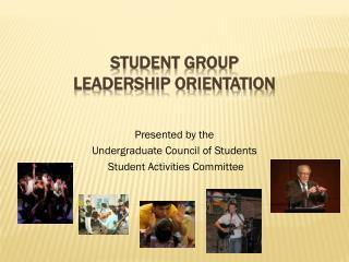 Student  Group  leadership orientation