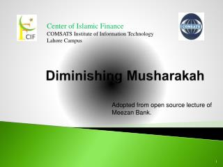 Diminishing Musharakah