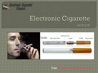 E lectronic Cigarette review
