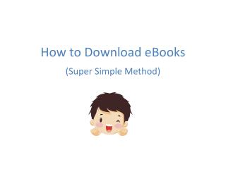 How to Download e B ooks