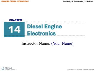 Diesel Engine Electronics