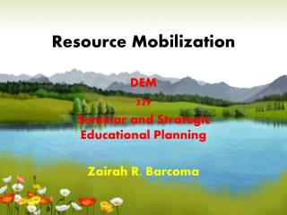 Resource Mobilization