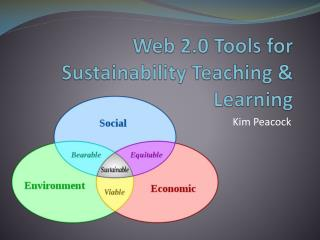 Web 2.0 Tools for Sustainability Teaching & Learning