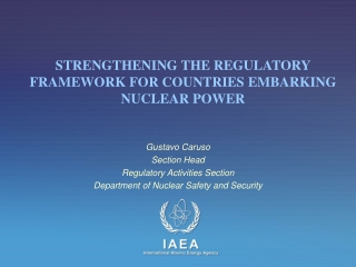 INTERNATIONAL ATOMIC ENERGY AGENCY Technical Committee Meeting ...