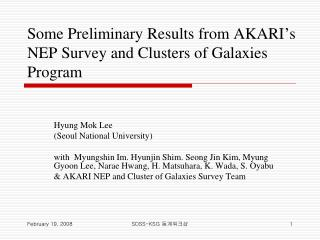 Some Preliminary Results from AKARI's NEP Survey and Clusters of Galaxies Program