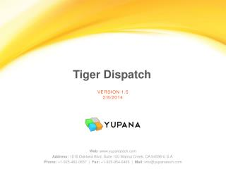 Tiger Dispatch