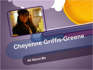 Cheyenne Griffis-Greene
